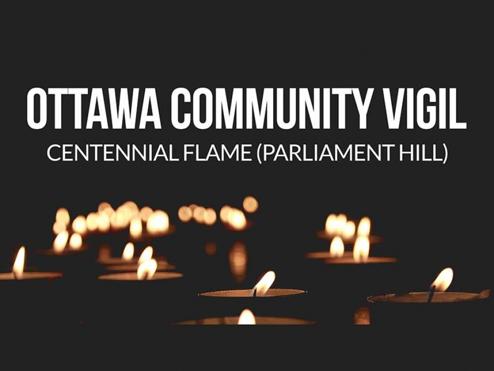 A vigil on Parliament Hill will be taking place Tuesday, January 29th to commemorate the Quebec Mosque attack.