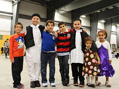Kids at MAC Eid Festival