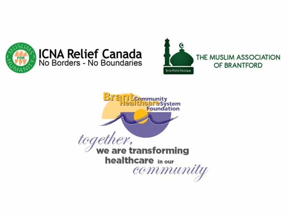 ICNA Relief Canada and Brantford Mosque Supports the Brant Community Healthcare System with Donation to Purchase a Ventilator