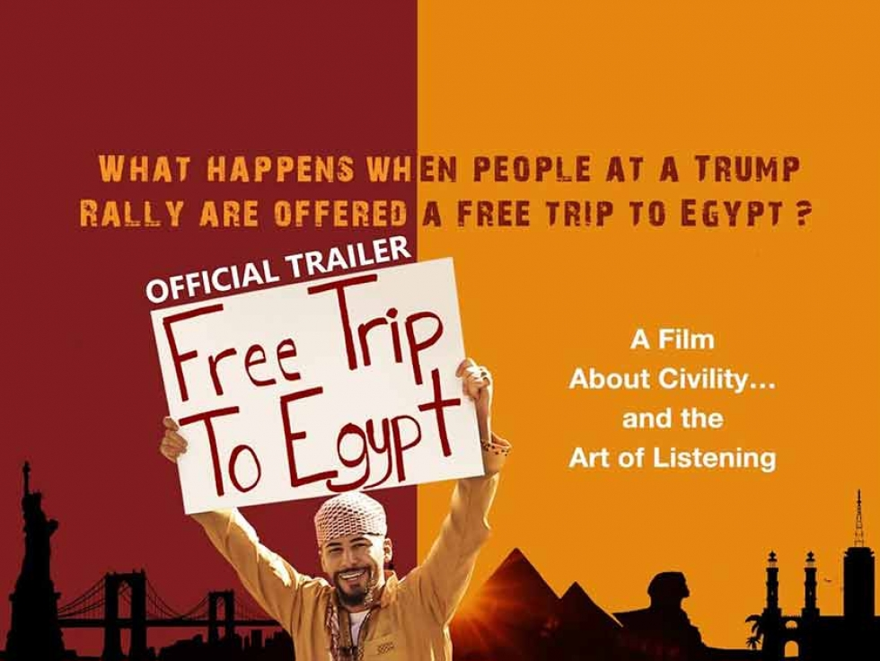 "Americans Accept a ""Free Trip to Egypt"" to Meet Muslims in New Documentary Screening at the Bytowne Cinema in Ottawa"