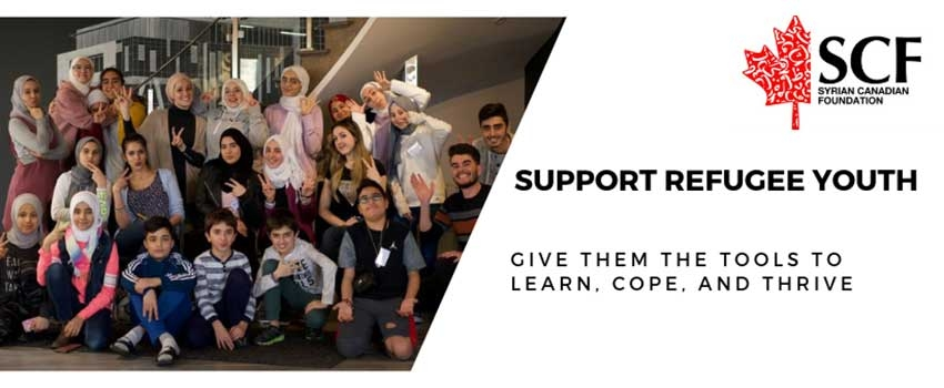 Help the Syrian Canadian Foundation Heal Young Refugees in the Greater Toronto Area Through Art