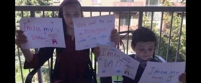 Sign Petition Demanding Government Allow War-Traumatized Children from Gaza to Be Reunited with their Parents in Canada