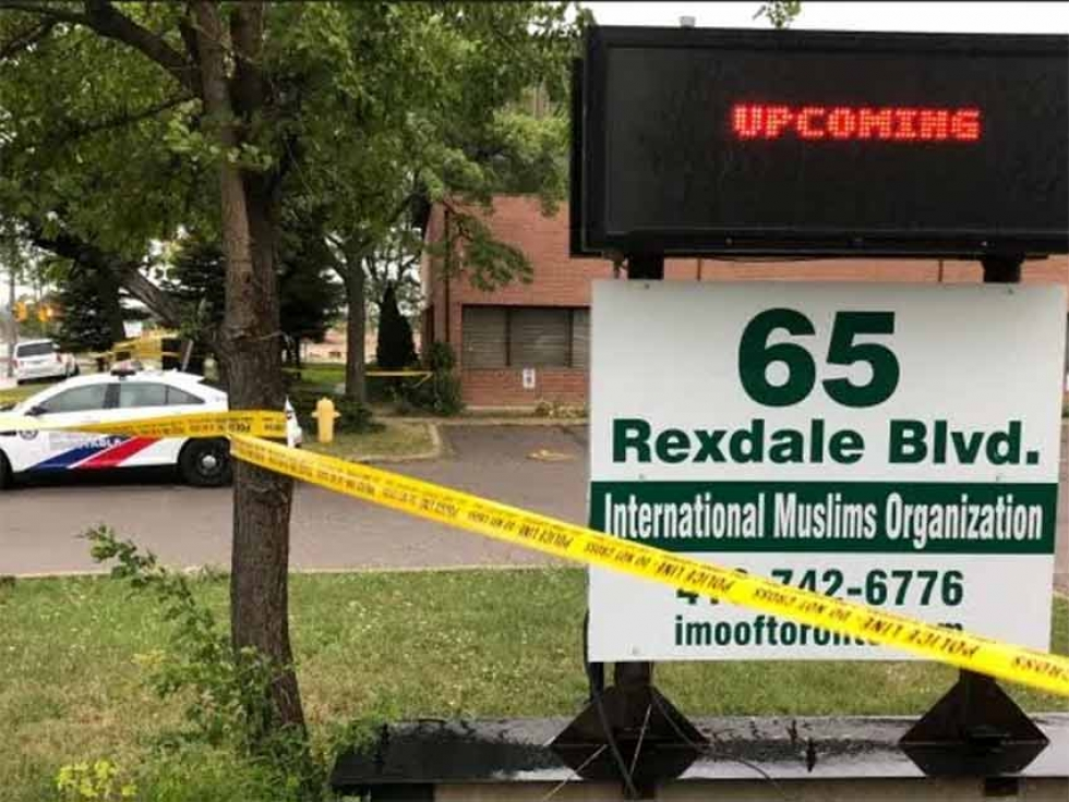 On Saturday, September 12, 2020, a volunteer caretaker was stabbed to death at the International Muslim Organization of Toronto (IMO)