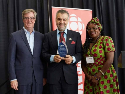 Mohd Jamal Alsharif Honoured with 2018 Welcoming Ottawa Ambassador Award