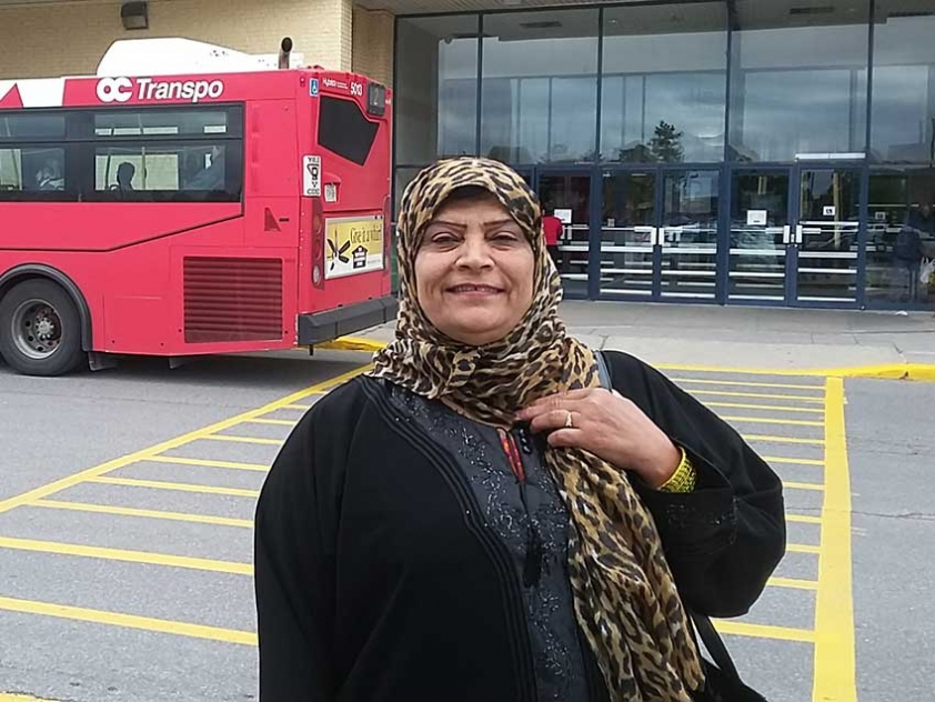 Nahid Khan wants you to help make public transportation more affordable in Ottawa.