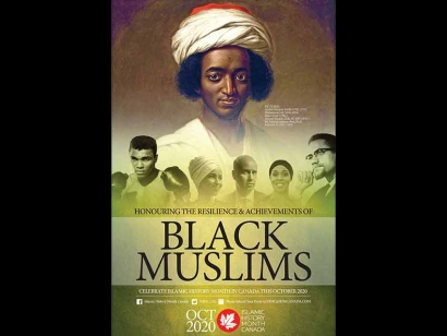 "October is Islamic History Month: 2020 Theme ""Resilience and Achievements of Black Muslims"""